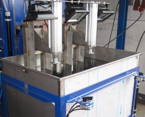 Tauchbecken zur Dichtheitsprüfung von KEG – Fässern (TB-700) Keg - Fertigung