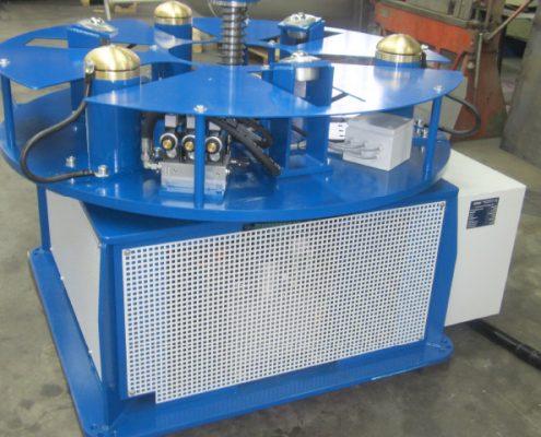 Brennerstativ und Drehvorrichtung zur Barbeitung von Kesselböden (BöDV BS 15) Bödenherstellung