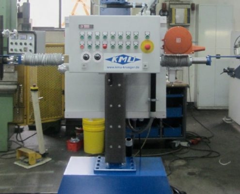 Burner stand and turning device for the processing of boiler bottoms (BöDV BS 15)
