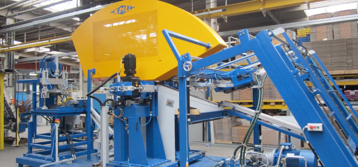 Wickel- und Biegeanlage zum Herstellen von Heuwendezinken aus Federstahl (ZWA-2E-14-110) Branchenunabhängige Lösungen