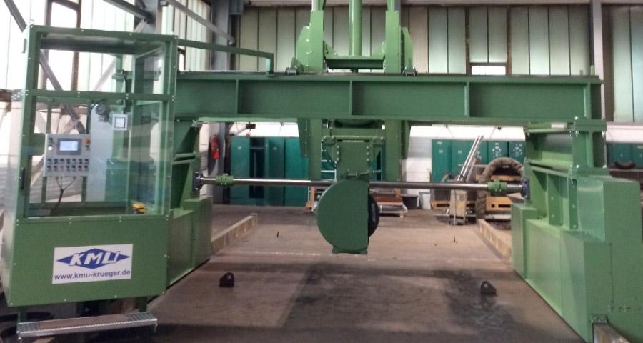 Steinschleifanlage zum Bearbeiten von Brammen (BSA-90KW-700-1500) Walzwerktechnik