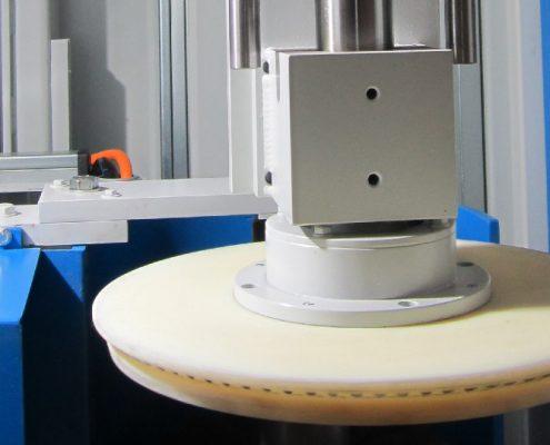 Manuelle Ganzfassbürstmaschine zum Bearbeiten von KEG – Fässern (FBM-300) KEG - Fertigung