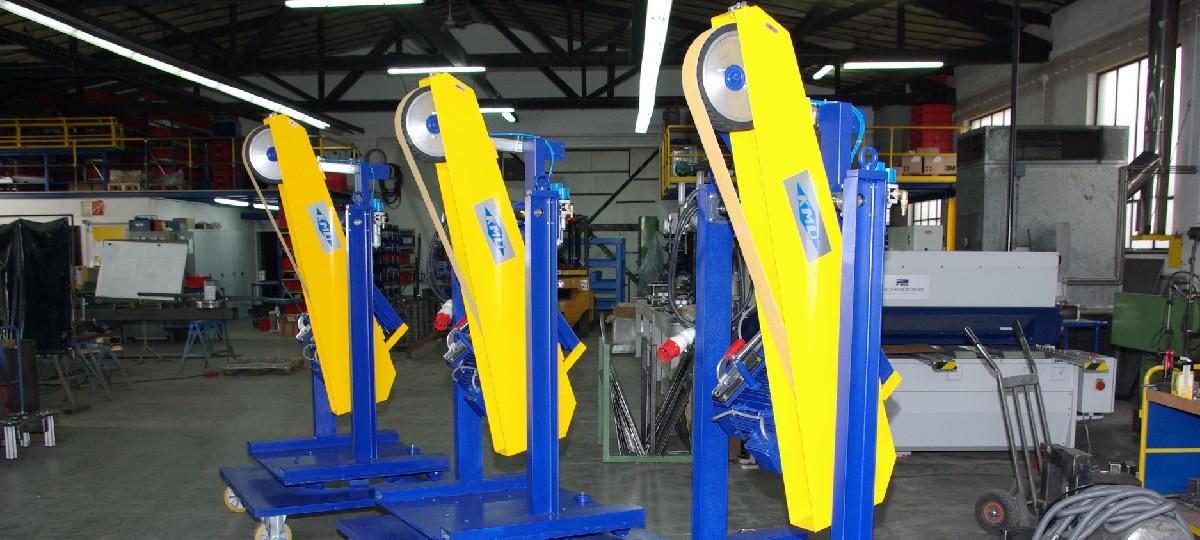 Schwenkschleifer (BSM 75 x 3000) Schweißnaht Nachbearbeitung Rohrbearbeitung Handgeführte Maschinen