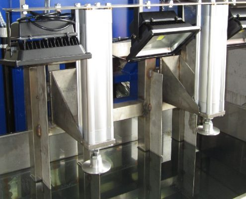 Tauchbecken zur Dichtheitsprüfung von KEG – Fässern (TB – 700) KEG - Fertigung