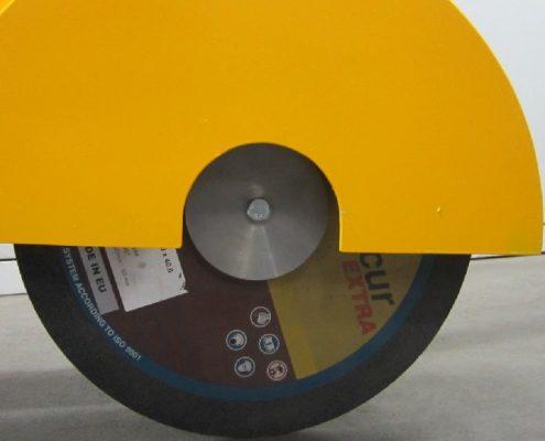 Fahrbarer Bandschleifer / Trennschleifer (LFBS) Schweißnaht Nachbearbeitung Rohrbearbeitung Handgeführte Maschinen