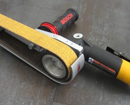 Winkelschleifer Vorsatzgerät (WSV) Schweißnaht Nachbearbeitung Rohrbearbeitung Handgeführte Maschinen