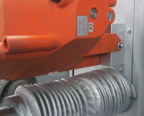 Brennerstativ und Drehvorrichtung zur Barbeitung von Kesselböden (BöDV BS-15) Bödenherstellung